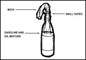 molotov cocktail design