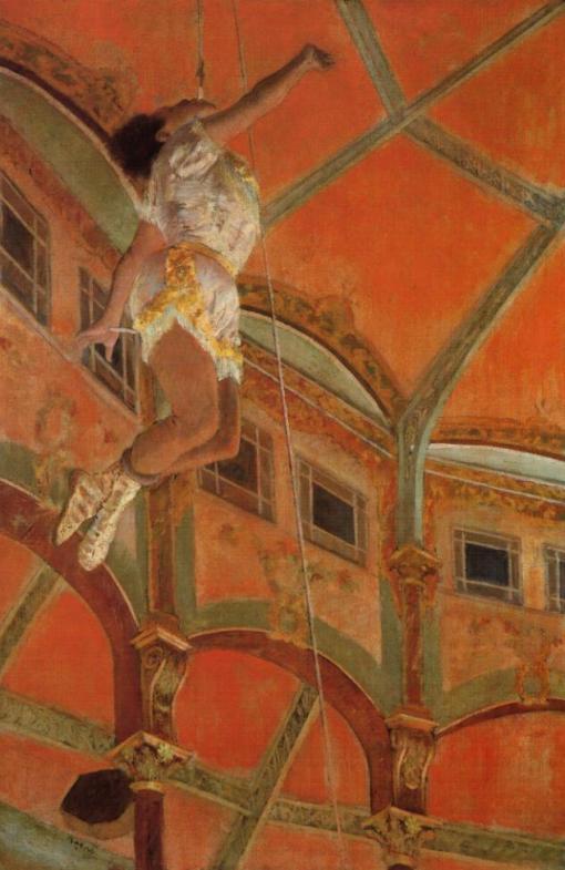 degas circus girl