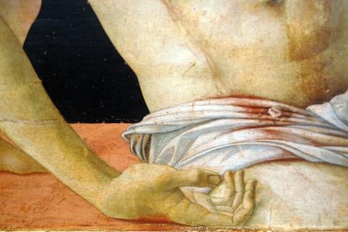 DETAIL CHRIST HAND RIM