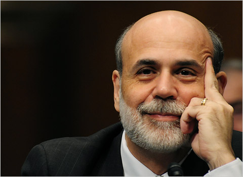bernanke gives the finger