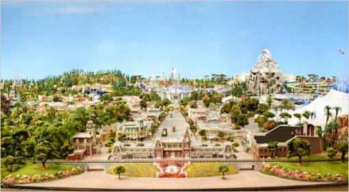 disneyland diorama