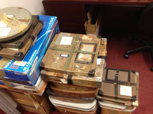 Rappaport's materials in Carney's lawyer's office.