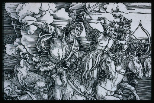 109 Albrecht-Dürer-The-Four-Horsemen-Apocalypse-probably-1497-98-painting-artwork-print-1024x684