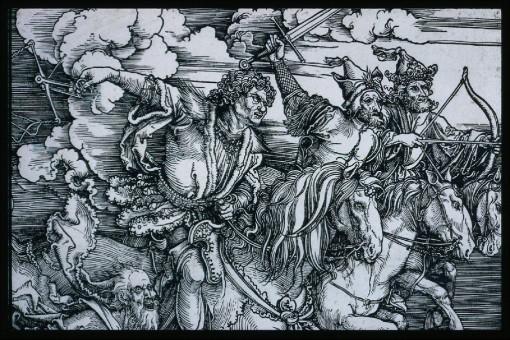 109 Albrecht-Dürer-The-Four-Horsemen-Apocalypse-probably-1497-98-painting-artwork-print-1024x684