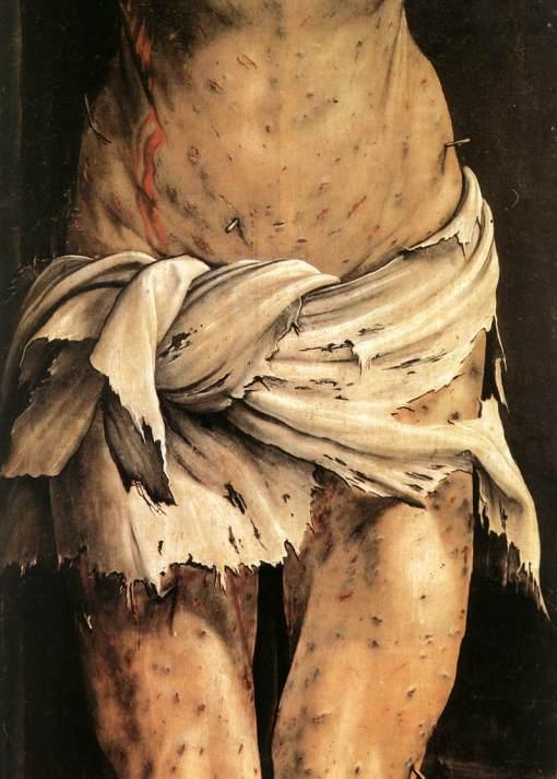 23 Grunewald Mathias - Crucifixion detail c