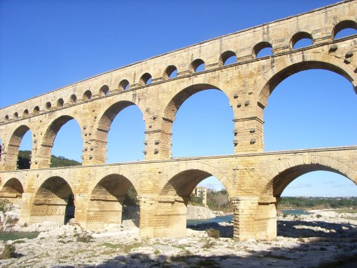 51Pont Du Gard Roman Aqueduct Wallpapers 1
