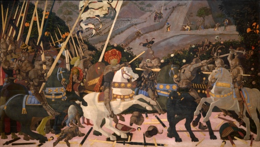 81  UCCELLO San_Romano_Battle_(Paolo_Uccello,_London)_01