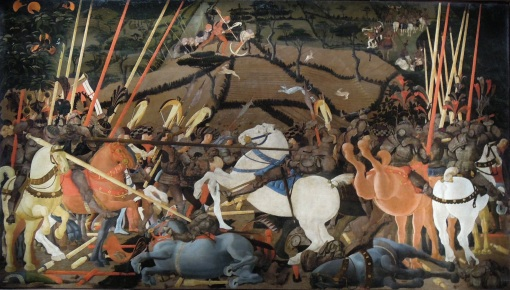 84 Uccello_Battle_of_San_Romano_Uffizi