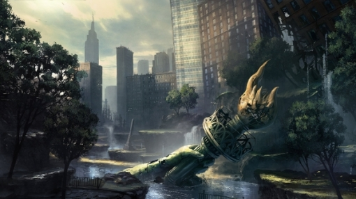 video games ruins new york city artwork crysis 2 2560x1440 wallpaper_www.wall321.com_32